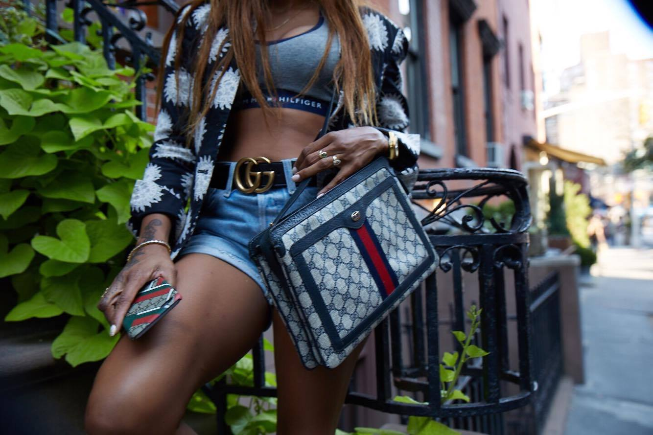 The Gucci Shoot with Steph Ross